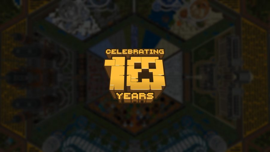Minecraft slaví 10 let